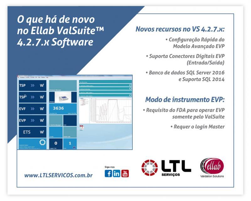 Nova atualização do ValSuite™ 4.2.7.x Software – Ellab