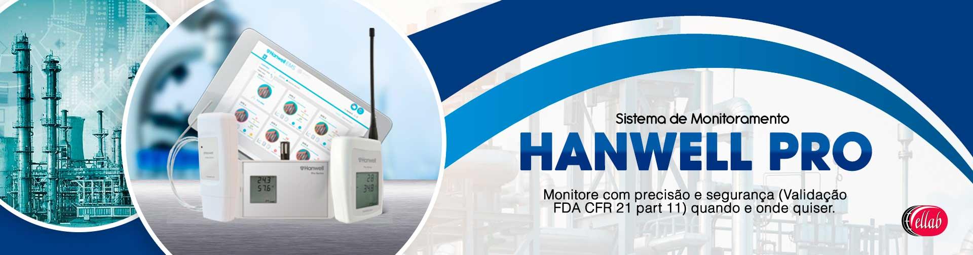 Sistema de monitoramento Hanwell Pro