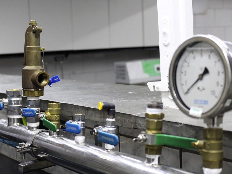 Calibração de válvulas de segurança