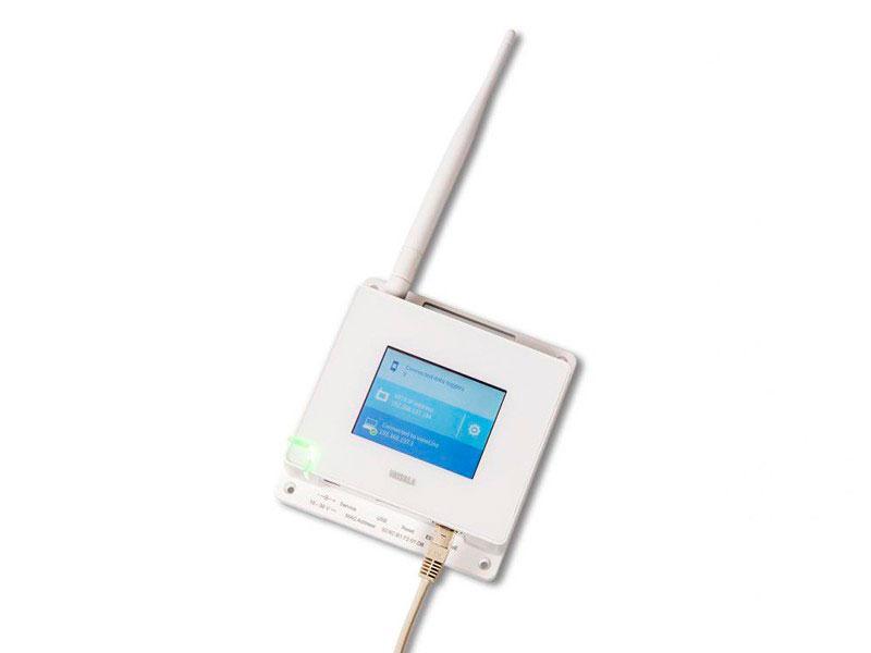 Medidor de umidade e temperatura
