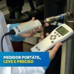 Medidor de ponto de orvalho para ar comprimidor