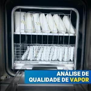 Analise de qualidade de vapor