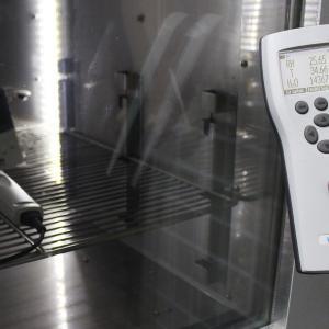Calibração termo higrômetro
