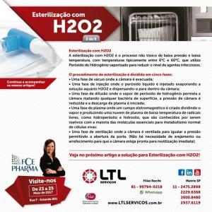 Esterilização com H2O2 – Desafios