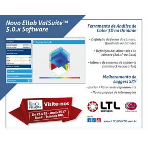 O que há de novo no Ellab ValSuite™ 5.0.X Software